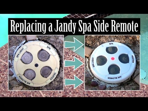 Replacing a Jandy / Zodiac Spa-Side Remote