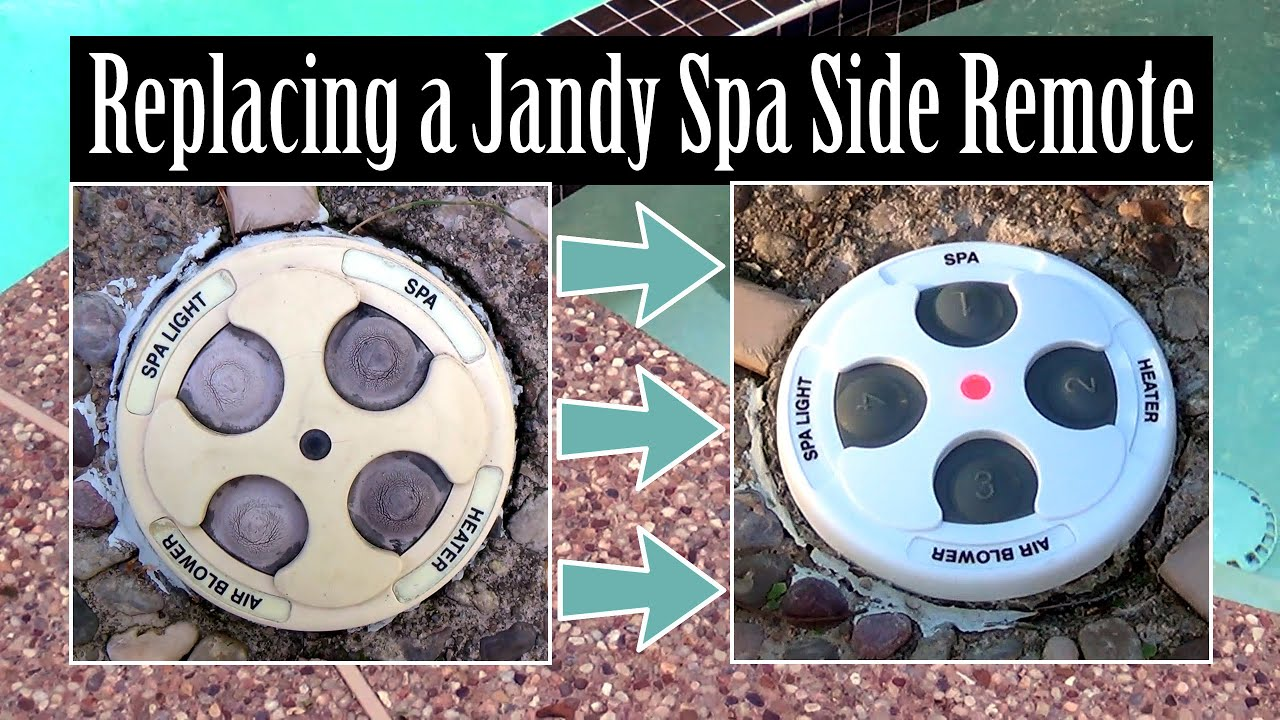 maxresdefault replacing a jandy zodiac spa side remote youtube jandy spa side remote wiring diagram at aneh.co