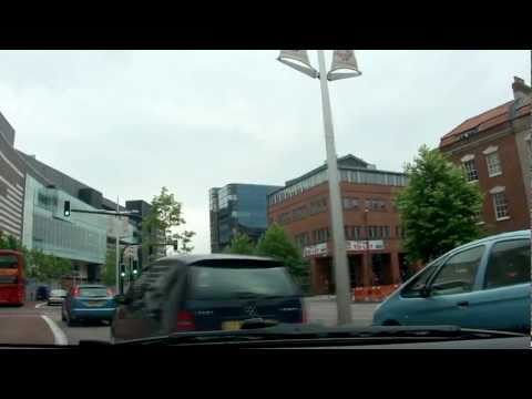 Driving in Bristol, England