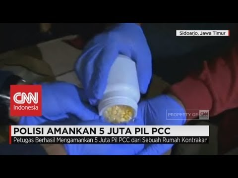 Polisi Amankan 5 Juta Pil PCC Seharga Rp 10 Miliar