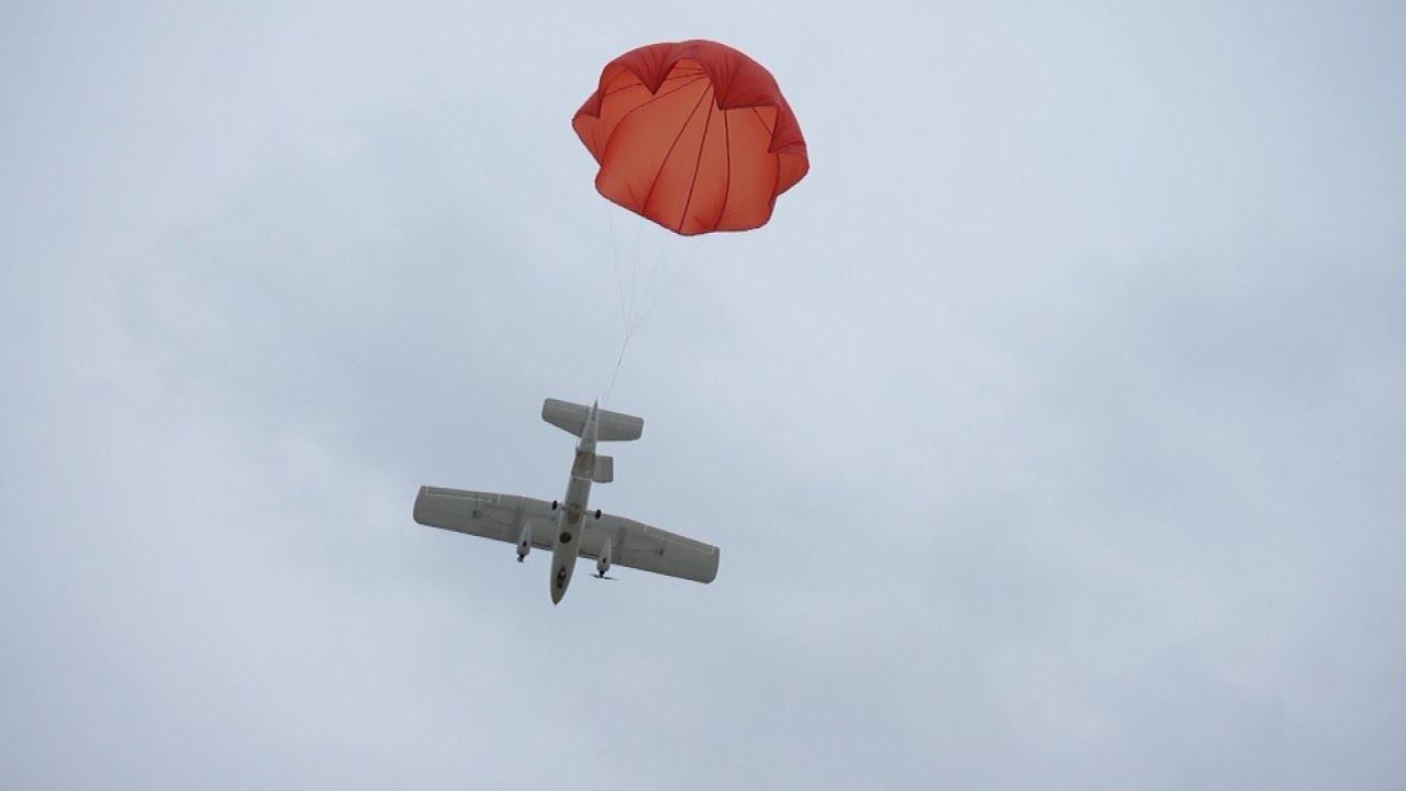 Emergency Parachute System For Mtd Long Range Uav Plane
