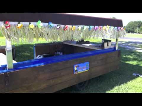 The Old Mango Tailgating Tiki Bar Bbq Tailgate Trailer