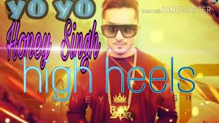 Background karaoke//high heel//yo yo Honey Singh