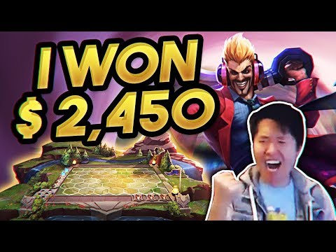 🏆 Disguised Toast SURPRISES EVERYONE AT THE TFT TOURNAMENT! | Teamfight Tactics | LoL Auto Chess
