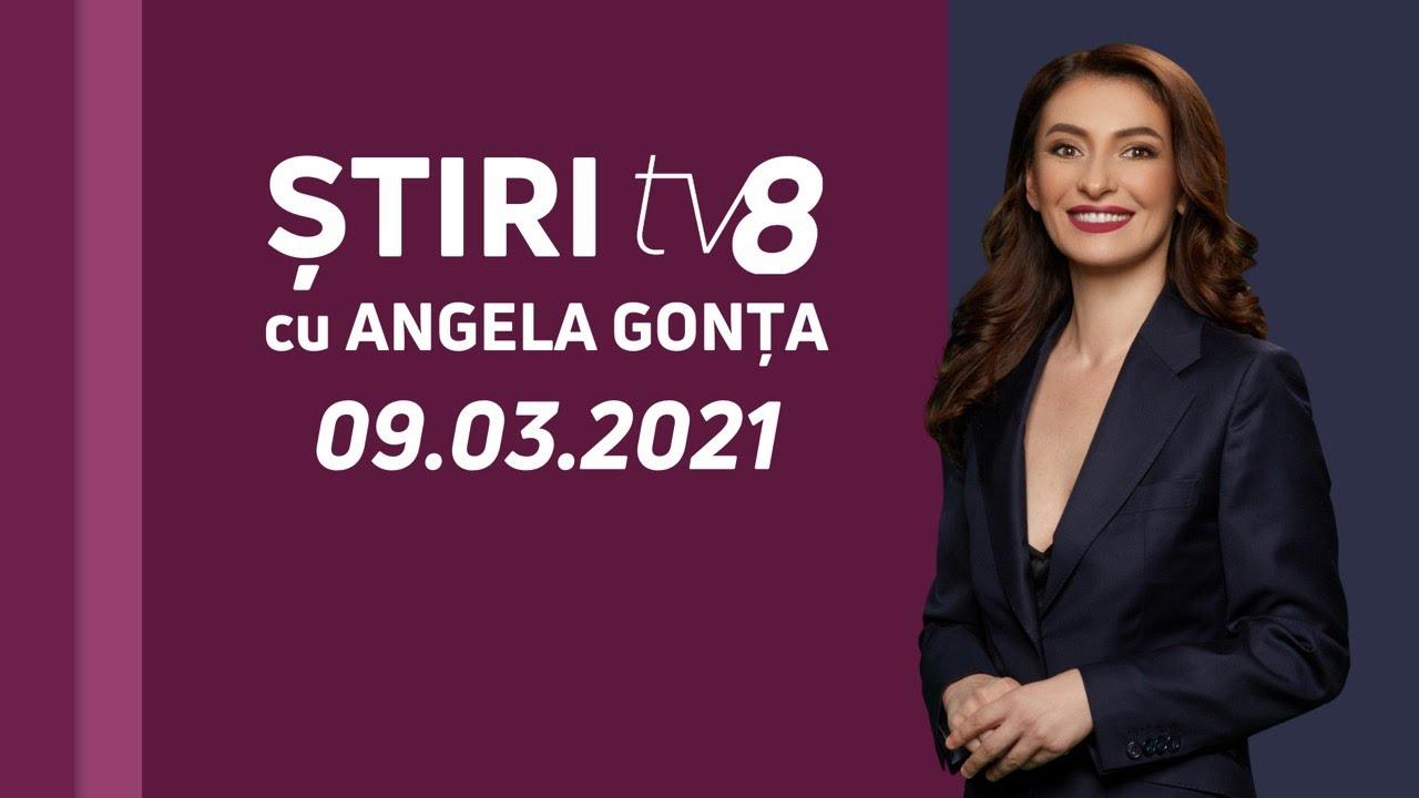 LIVE: Ştiri cu Angela Gonța  / 09.03.2021 /