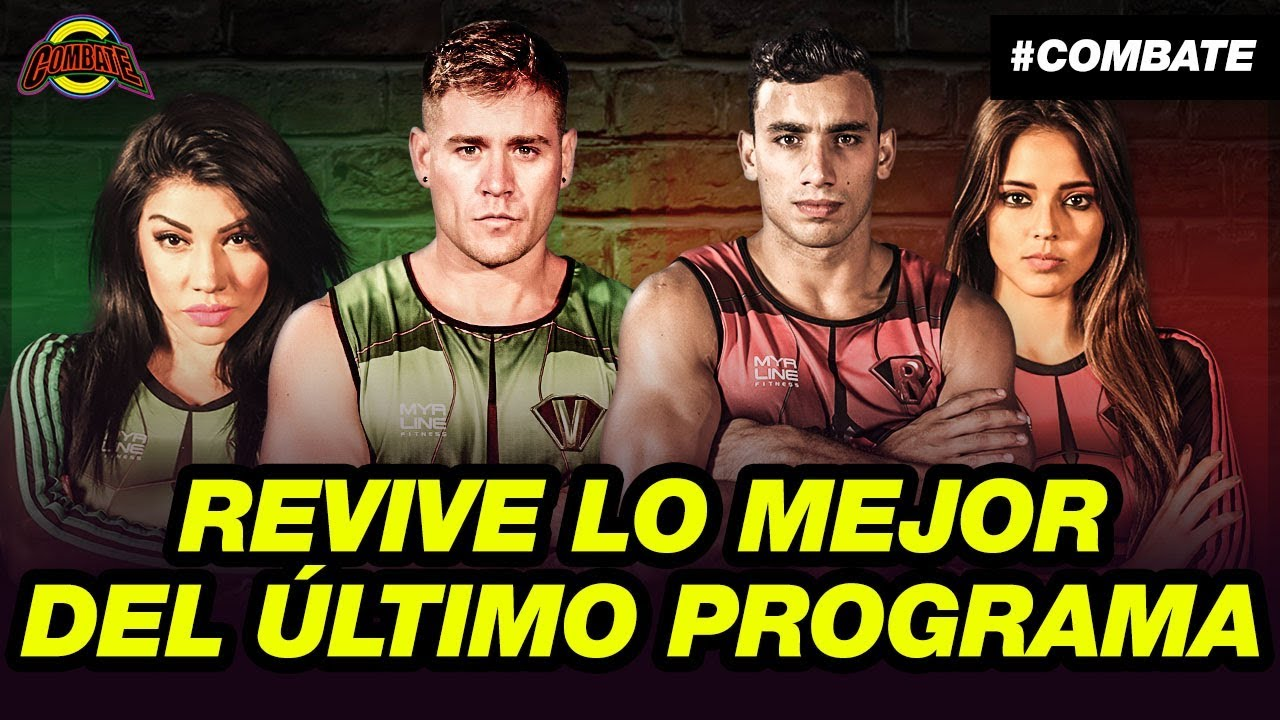 Combate: Programa del 28 de diciembre de 2018