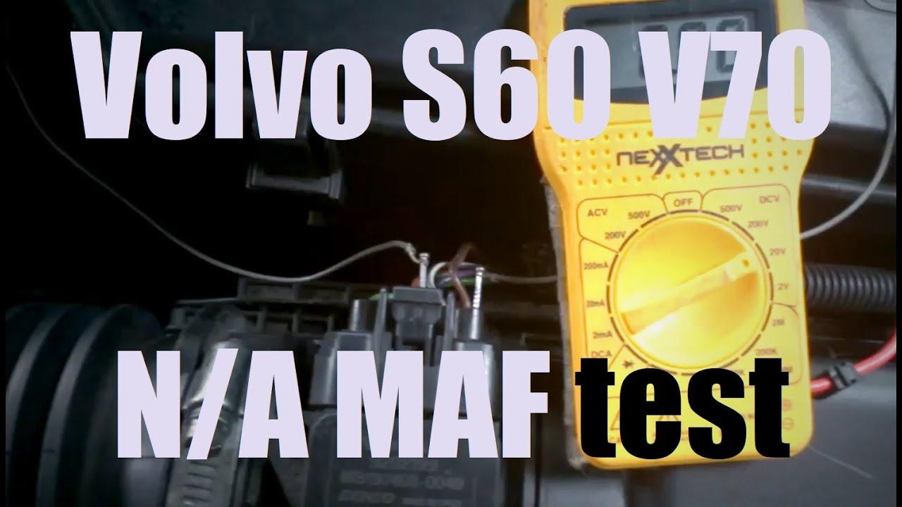 maf sensor test volvo [ 1280 x 720 Pixel ]