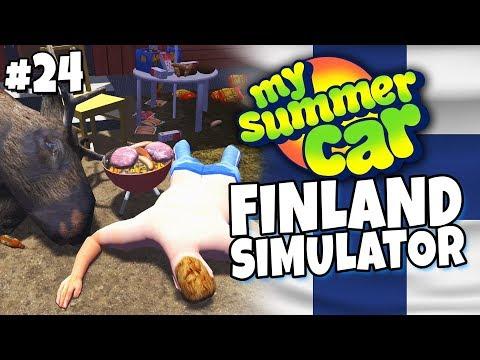 My Summer Car - Finland Simulator #24 - Moose BBQ