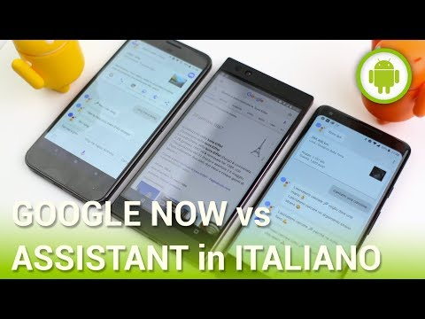 Google Assistant in Italiano: cosa cambia rispetto a Google Now?