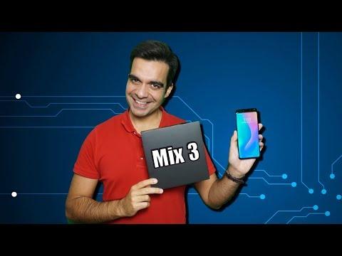Xiaomi Mi Mix 3 - Análise Rápida (Review), Unboxing Em Português!