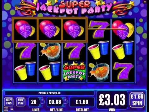 Play super jackpot party slot online - YouTube