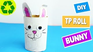 SCHEDULED - How to Make a Toilet Paper Roll Bunny  Toilet Paper Roll Crafts