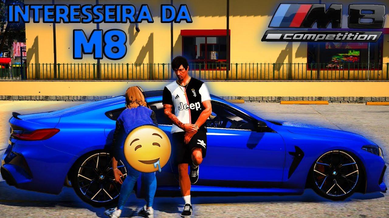 GTA V - VIDA REAL| A NOVINHA PEDIU PRA DAR UMA VOLTA NA BMW M8!!! Ep#43