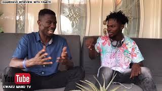 Kwaku Manu Aggressive interview With FAMEYE (N0thing I get) 🔥