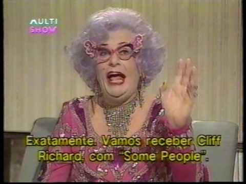 The Dame Edna Everage with Sean Connery, Cliff Richard, Mary Whitehouse. Part 1