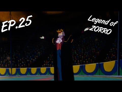 TEARS OF CLOWN - The Legend of Zorro, ep. 25 - EN