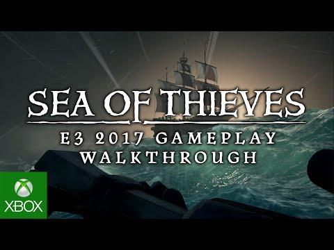 Sea of Thieves - E3 2017 - 4K Gameplay Walkthrough