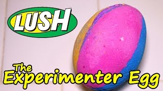 LUSH - THE EXPERIMENTER EGG Bath Bomb - DEMO - Underwater - REVIEW - Slow Motion UK Kitchen