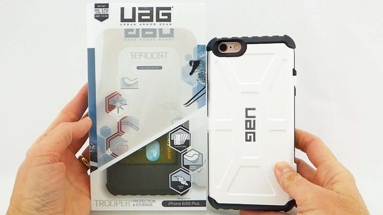 online store da260 7c809 UAG Trooper: An Excellent Card Case with Mil-Spec Protection for iPhone 6s  Plus