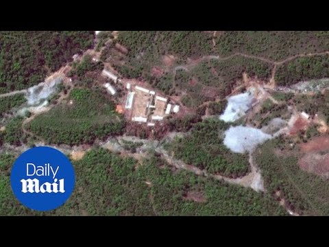 (AUDIO) Reporter account North Korea nuclear site demolition - Daily Mail