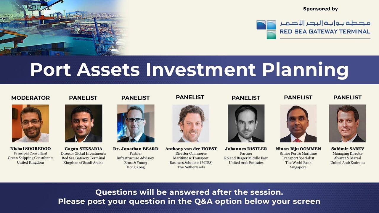 01 Gagan Seksaria Director Global Investments Red Sea Gateway Terminal Kingdom Of Saudi Arabia Youtube