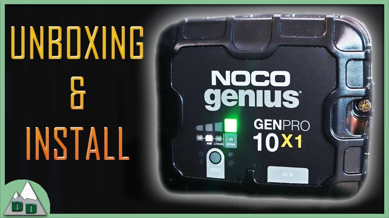 NOCO Genius Onboard Charger | Camper Boat RV Shore Power Battery Charging