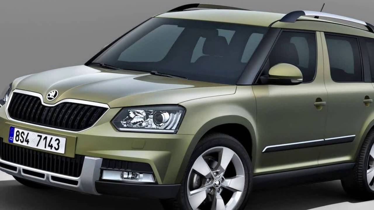 skoda yeti 2016 new car essentials youtube. Black Bedroom Furniture Sets. Home Design Ideas