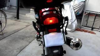 ACTIVE LED License holder with indicator パニアケースを取り付けるに...