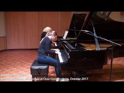 Ronald Brautigam Masterclass Oulu Conservatoire October 2017 Pinja Ukkola