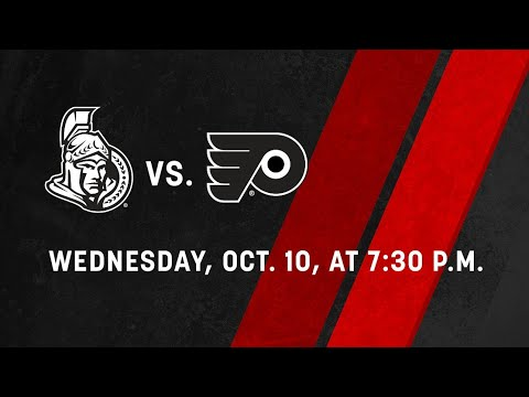 Ottawa senators vs Philadelphia flyers preview