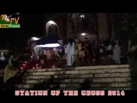 STATION OF CROSS 2014 st. Cecilia choir Toledo City Cebu