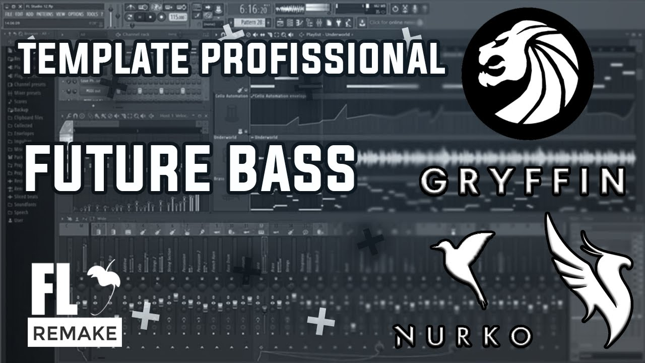 Template Profissional Future Bass (Illenium, Nurko, Seven Lions, Gryffin)