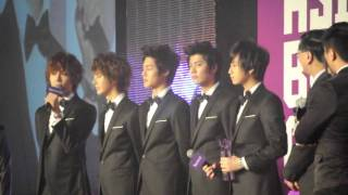 [Fancam] 091214 YAHOO! Buzz Award SS501 - (Part 2/4)