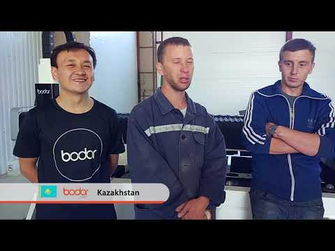Praise from Kazakhstan