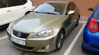 Отзыв о шинах Goodyear ранфлет (RunOnFlat) на Lexus is250