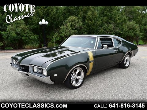 Stunning Olds 442 For Sale At Coyote Classics!!  $33,995