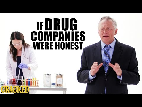 If Drug Companies Were Honest - Honest Ads