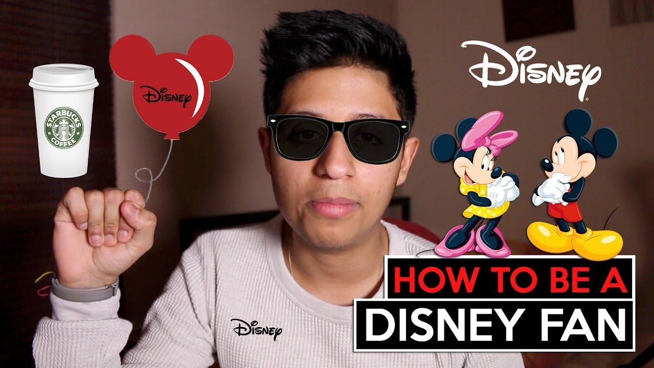 How to Be a Disney Fan