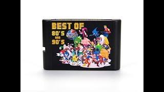 Mega Drive / Genesis 196 in 1 Multicart Game List