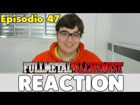 Fullmetal Alchemist Brotherhood Episode 47 REACTION