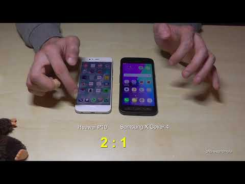 Huawei P10 VS Samsung Galaxy XCover 4: Quick Speed Test