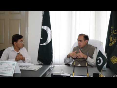 Interview with Minister for work Gilgit-Baltistan Dr. Muhammad Iqbal.part 1