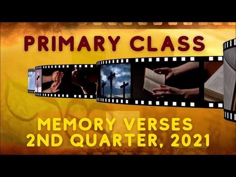 13th Sabbath Presentation    Primary Class    Second Quarter 2021
