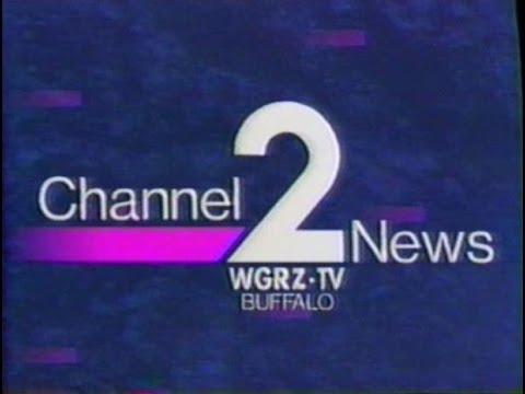 WGRZ-TV Buffalo IDs and Newsbriefs 1989