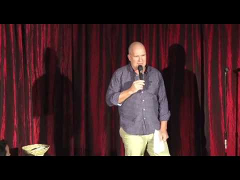 11.5.16 - Sean McCormack at the Camino Real Playhouse. Students of Stand-up