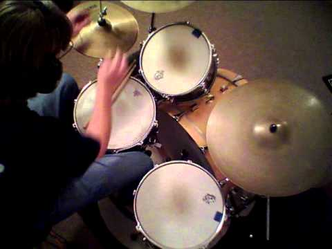 """Jon Biggs Pork Pie Drums """" 2000 Light Years from Home """" - drum cover"""