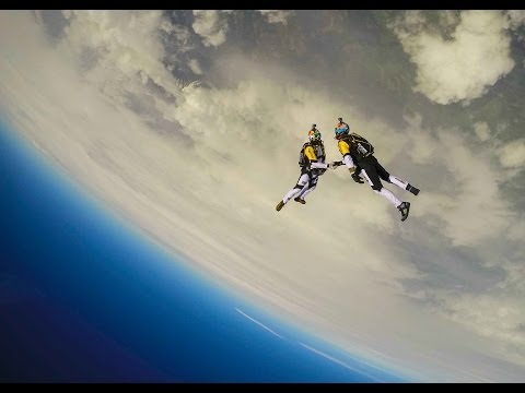 High Altitude Acrobatic Skydiving FULL RUN - Red Bull Skycombo