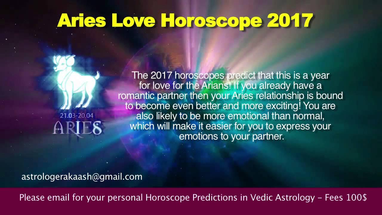 76dd9c0d7 Aries 2017 Horoscope Predictions - YouTube