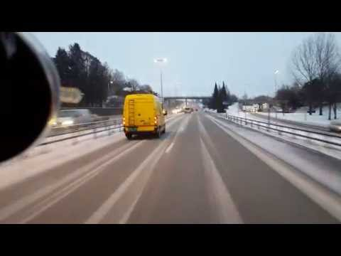 Drammen - Oslo (with a truck)