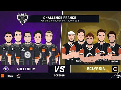 Millenium vs Eclypsia (Partie 1) - Phase de groupe   Challenge France 2016